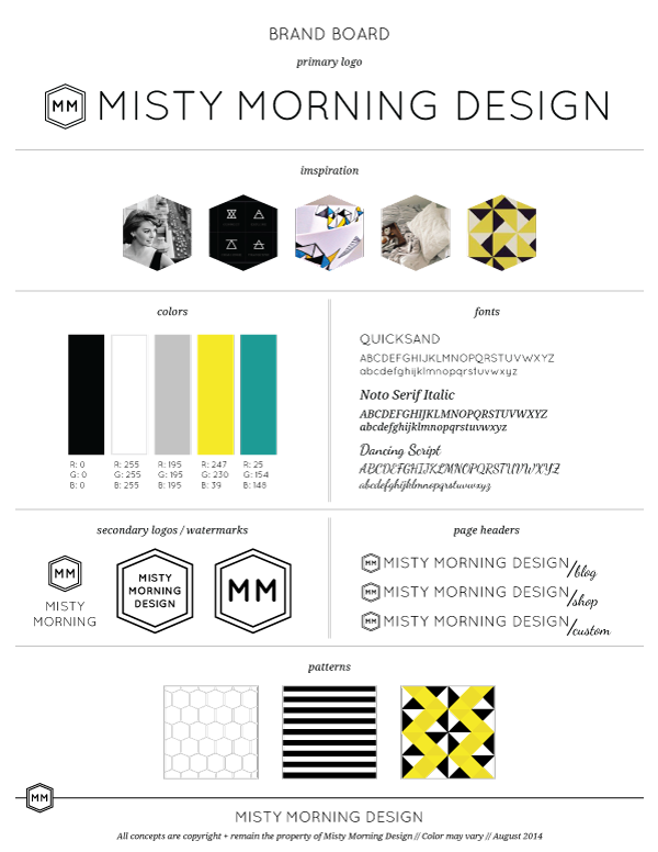 Misty-Morning-Design_Brand-Board